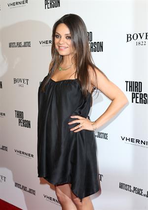 Mila Kunis attending the  Third Person  Los Angeles Premiere June 9, 2014