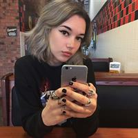 Sarah Snyder taking a selfie