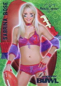 Sabrina Rose in lingerie