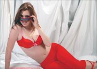 Jess Robinson in lingerie