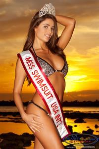 Jennifer Bock in a bikini