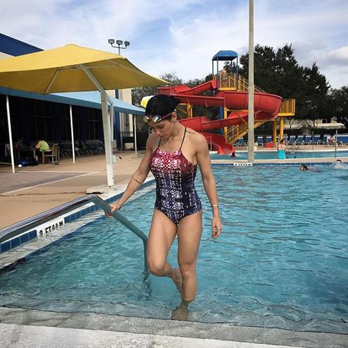 Bella Falconi in a bikini