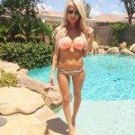Alexa Jean Brown in a bikini