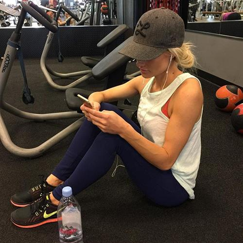 Alexa Jean Brown in Yoga Pants