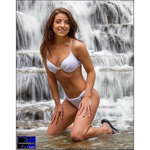 Brittney Rose in a bikini