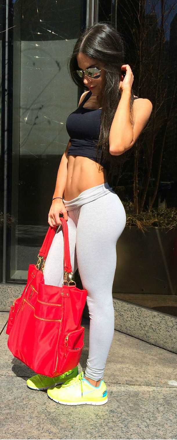 Anonymous in Yoga Pants