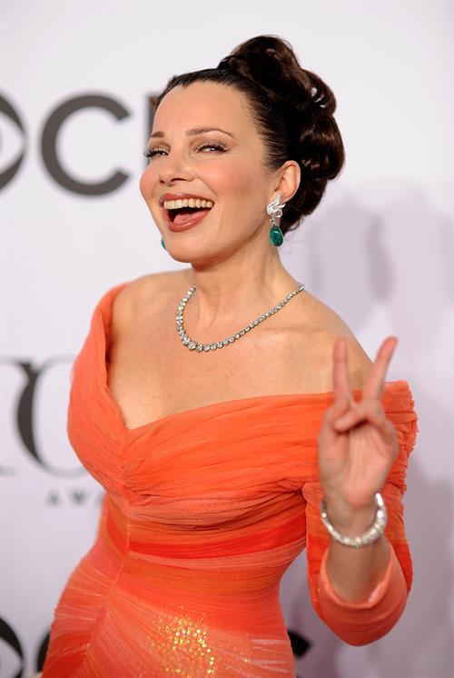 Fran Drescher at 68th Annual Tony Awards at Radio City Music Hall June 8, 2014