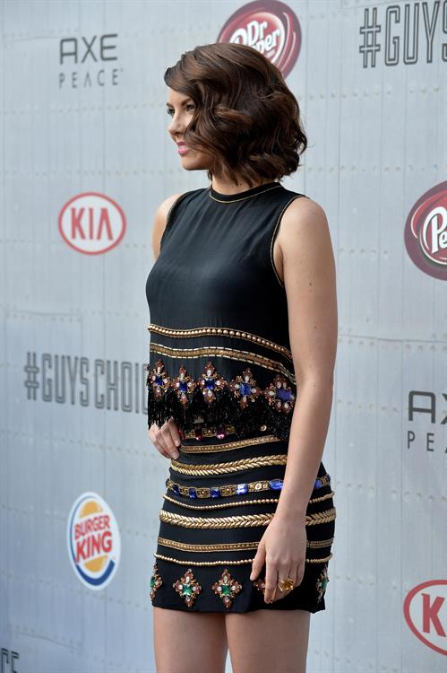 Lauren Cohan at Spike TVs Guys Choice 2014 June 7, 2014