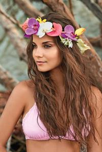Gabriela Salles in a bikini