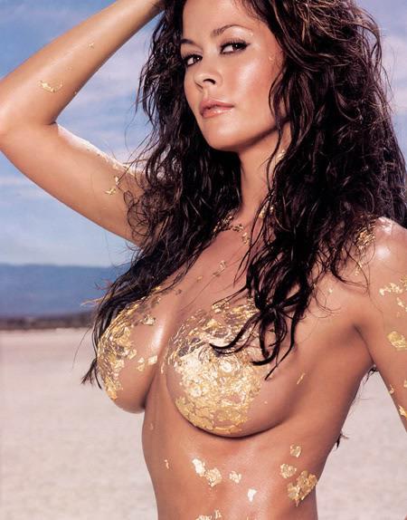 Brooke Burke in body paint