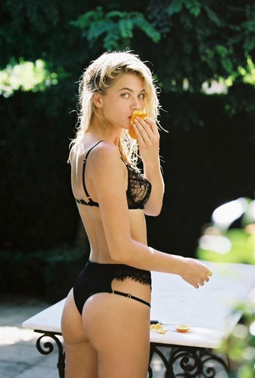 Megan Blake Irwin in lingerie - ass