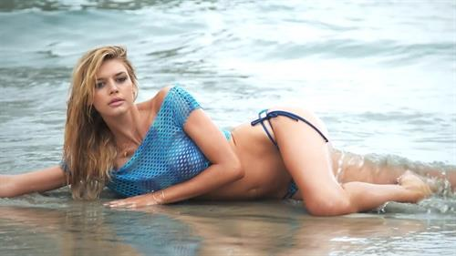 Kelly Rohrbach in a bikini