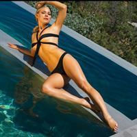 Nikki Leigh in a bikini