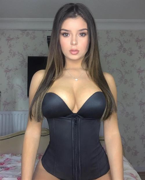 Demi Rose Mawby in lingerie