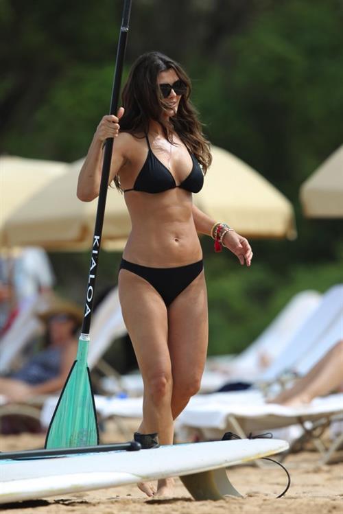 Annette Melton in a bikini