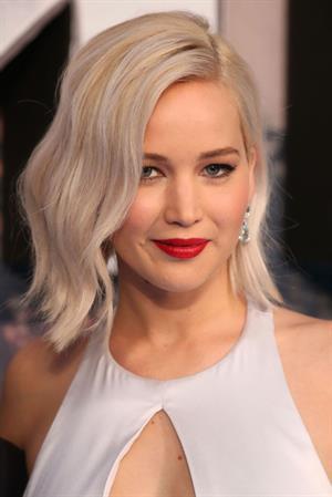Jennifer Lawrence attending X-Men Apocalypse Premiere in London, United Kingdom on May 9, 2016