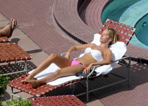 Ashley Tisdale in a bikini