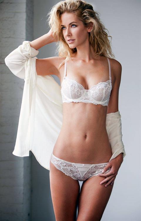 Olivia Jordan in lingerie