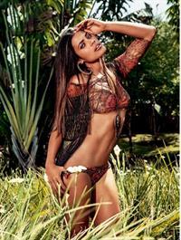 Ildi Silva in a bikini