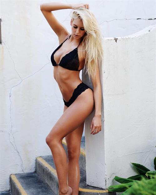 Bri Teresi in a bikini