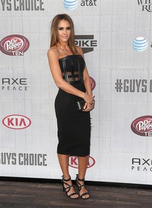 Jessica Alba  Spike TVs Guys Choice 2014 June 7, 2014