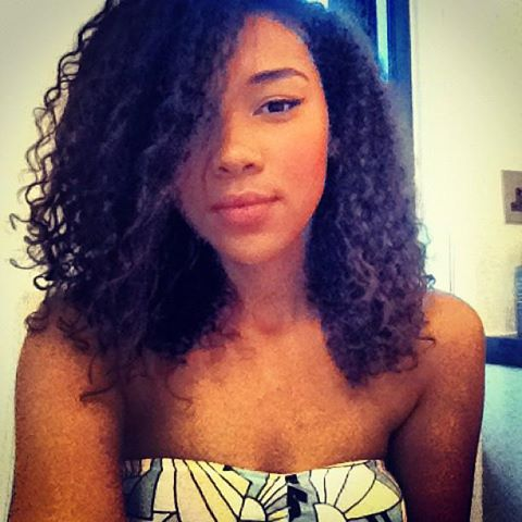 Alexandra Shipp taking a selfie