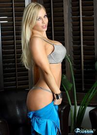 Jenny Poussin in lingerie