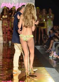 Petra Němcová in a bikini