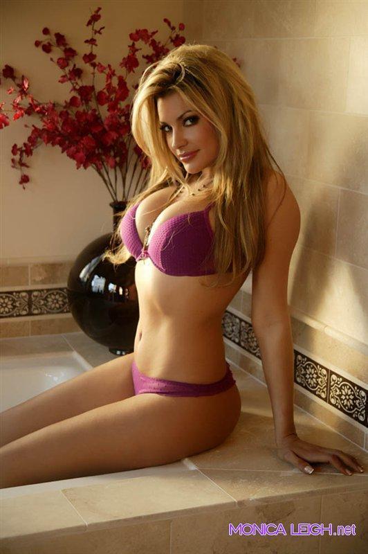 Monica Leigh in lingerie