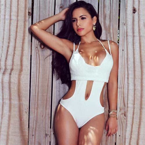 Lisa Morales in a bikini