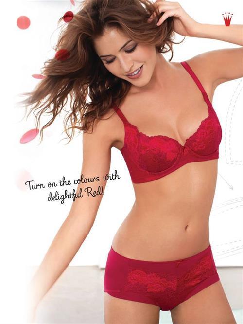 Jehane Paris in lingerie