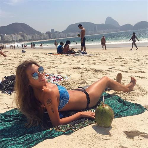 Paola Antonini in a bikini