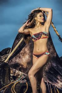 Yara Khmidan in a bikini