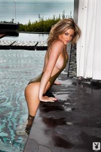 Katie Vernola in a bikini