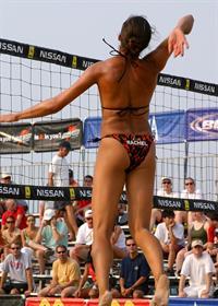 Rachel Wacholder in a bikini - ass