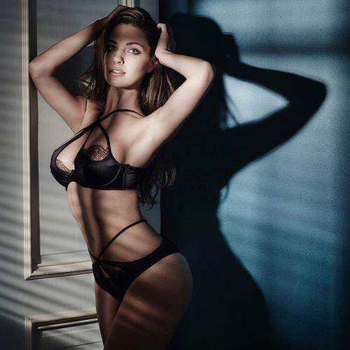 Jessica Ashley in lingerie