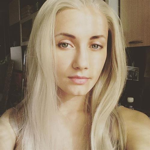 Natasha Firsakova taking a selfie