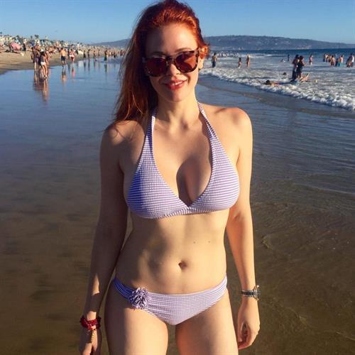 Maitland Ward in a bikini