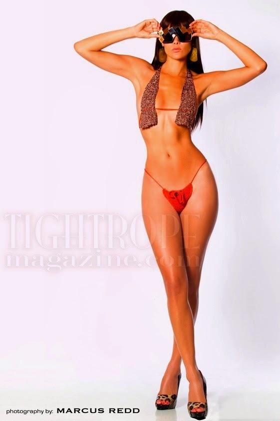 Jade Cole in a bikini