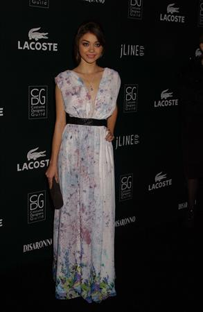 Sarah Hyland at Costume Designers Guild Awards in Beverly Hills, February 22, 2011