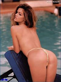 Brooke Richards in a bikini - ass