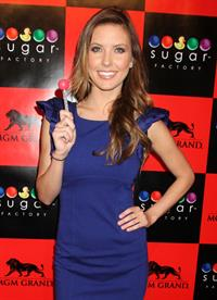 Audrina Patridge Sugar Factory Grand Opening in Las Vegas March 2, 2012