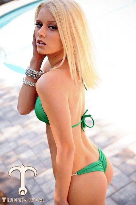 Alena Savostikova in a bikini - ass