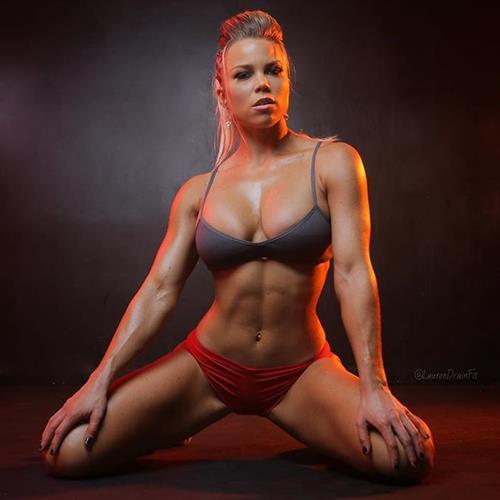 Lauren Drain Kagan in a bikini