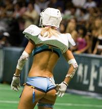 Christie Burns in lingerie - ass