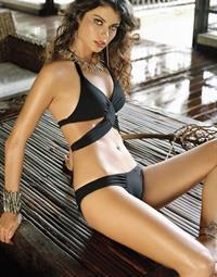 Fabiana Tambosi in a bikini