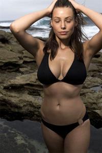 Lucy Bayet in a bikini