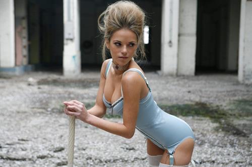Natalie Joel in lingerie