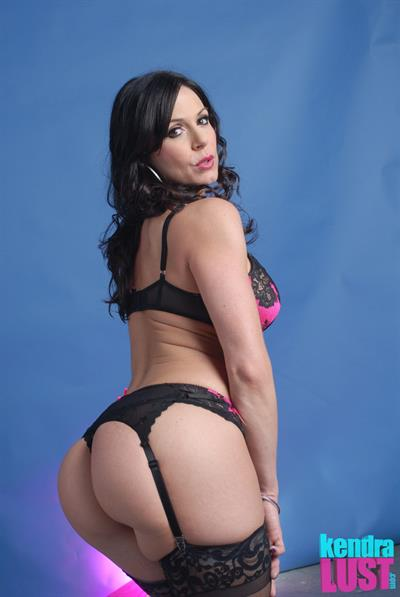 Kendra Lust in lingerie - ass