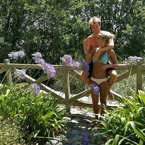 Tiffany Watson in a bikini